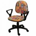 Кресло офисное фаворит с рисунком, Тюмень