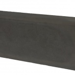 Бордюр Односторонний Вибролитой 500х210х70 Черный, Тюмень
