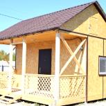 Дачный каркасный домик с открытой террасой., Тюмень