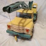 Автокран, ЗИЛ-130. Ретро-игрушка, Тюмень