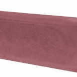 Бордюр Односторонний Вибролитой 500х210х70 Красный, Тюмень