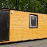 Утепленный домик полностью с обшивкой из вагонки., Тюмень