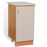 Шкаф-стол с дверью шн40 жемчуг, Тюмень