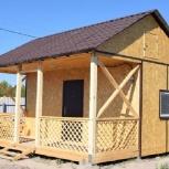 Дачный дом 5 х 4,5 х 4 под ключ с утеплением 100 мм., Тюмень