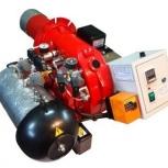 Горелка AL-35V (120-360 кВт) для котла на отработанном масле, Тюмень