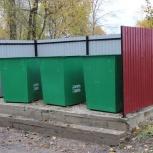 Открытые и закрытые контейнерные площадки, Тюмень