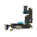 Шлейф нижний + разъем зарядки черный с аудио разъемом iPhone 6 Plus, Тюмень
