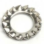 Шайба Ф2,5(М2,3) круглая стопорная DIN 6798 A, Тюмень