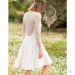 Нежное свадебное платье из Франции, Тюмень