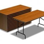 Складные столы и стулья, Тюмень