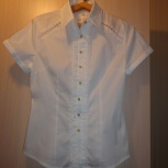 легкая белая  блузка, Тюмень