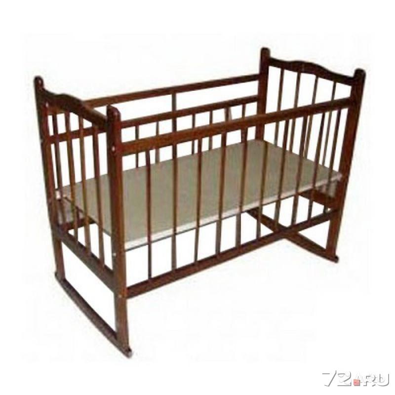 Кроватка качалка мишутка