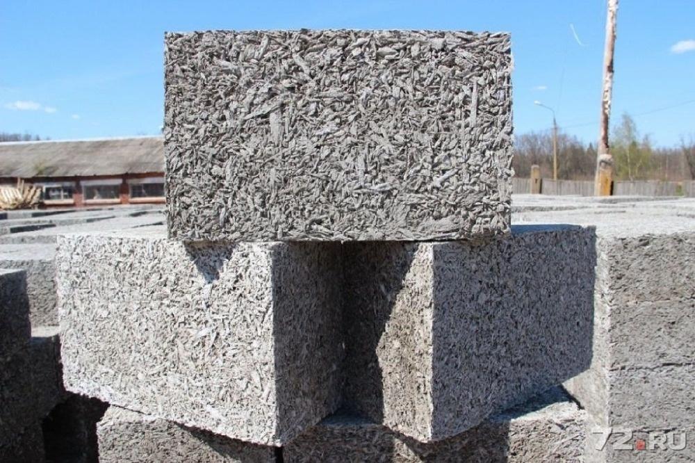 деревобетонный блок