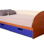 """Кровать с ящиками детская """"макс-2 тачки"""", Тюмень"""