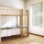 Кровать двухъярусная кр-2х2 дуб, Тюмень