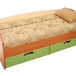 """Кровать с ящиками """"макс-2 смешарики"""", Тюмень"""