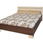 """Кровать каркасная 2х11 200x160 """"калипсо"""" венге, Тюмень"""
