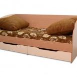 """Кровать с ящиками детская """"юниор"""" ваниль, Тюмень"""