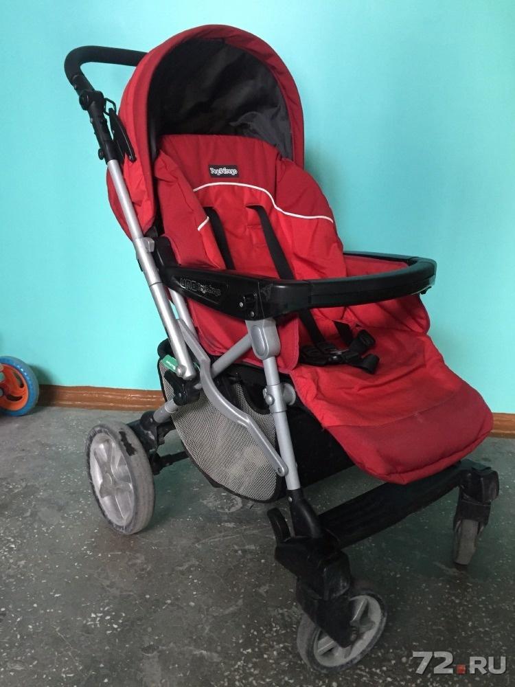 Прогулочная коляска peg perego б у
