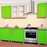 """Кухня прямая """"фреш"""" 240 см зеленый мдф, Тюмень"""